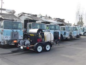 Commercial Fleet Washing